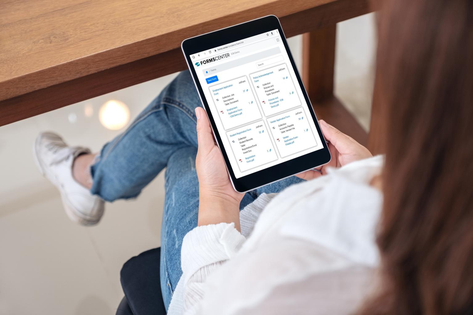 FormsCenter Digital E Forms Builder | ICM Document Solutions