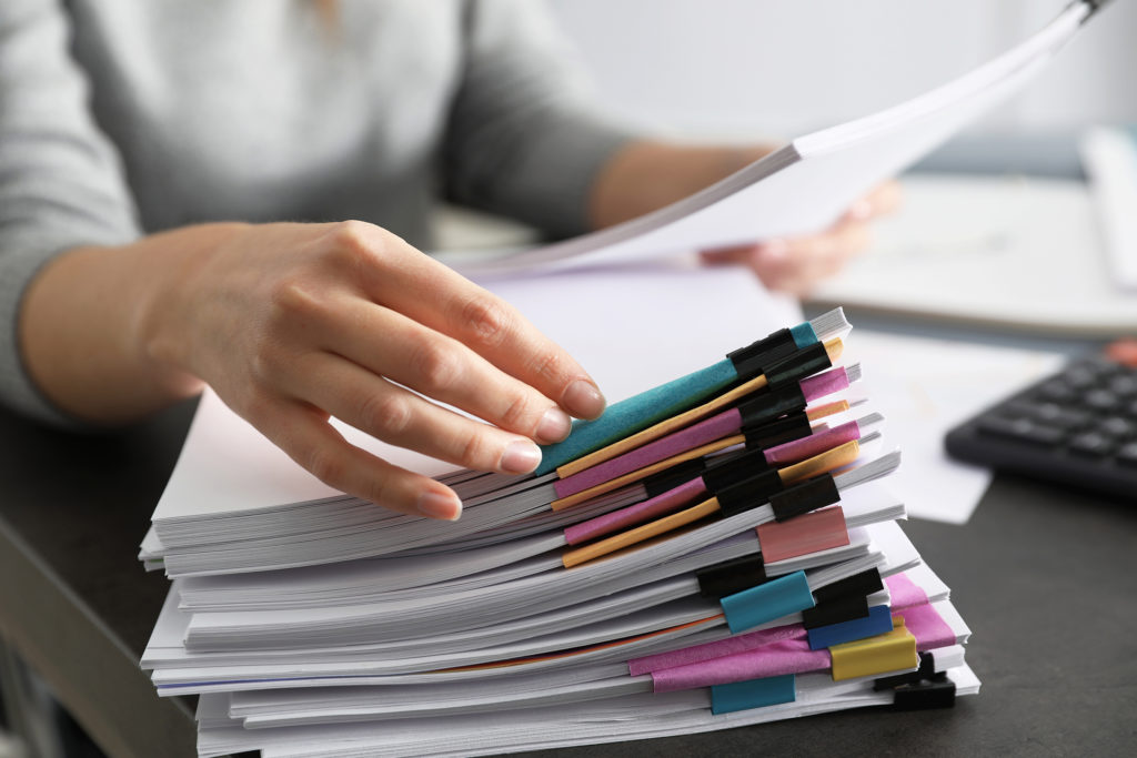 Contracts Document Management Services